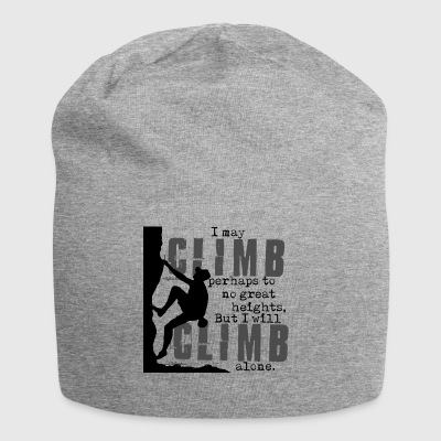 Climbing Great Heights - Jersey Beanie