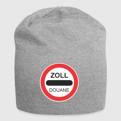 Road sign zoll douane - Bonnet en jersey