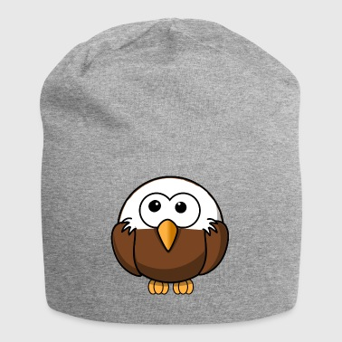 Eagle with bald comic style - Jersey Beanie