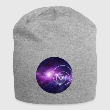 Galaxy Circle - Beanie in jersey