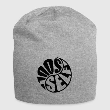 Yin and Yang - Jersey Beanie