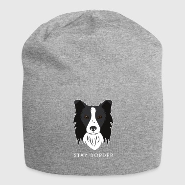 Border Collie - Beanie in jersey