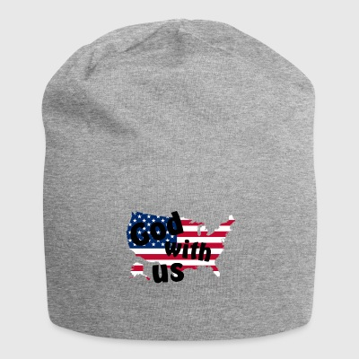 God with us - Jersey Beanie