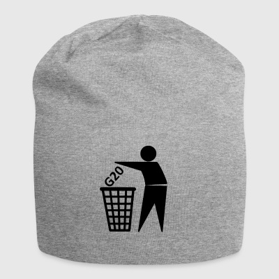 G20 into the bin - Jersey Beanie