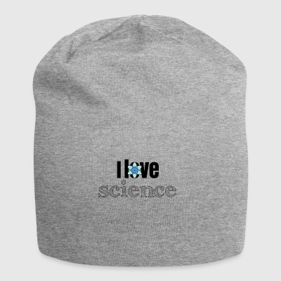 I love science - Jersey Beanie