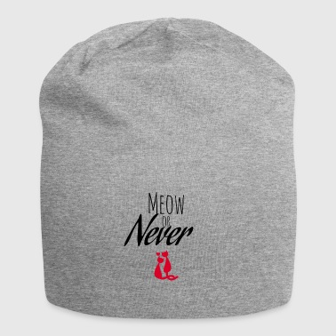 Meow or Never - Jersey Beanie