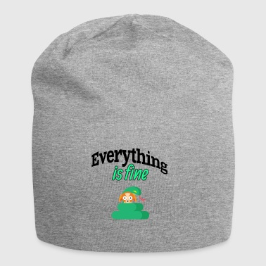 Everything is fine - Jersey Beanie