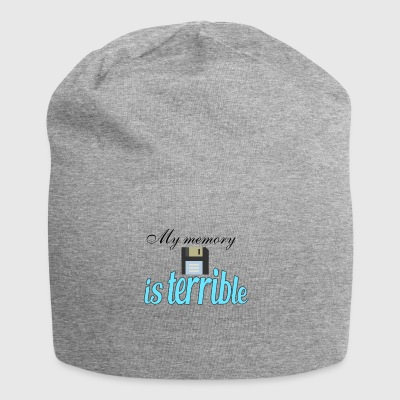 My memory is so terrible - Jersey Beanie