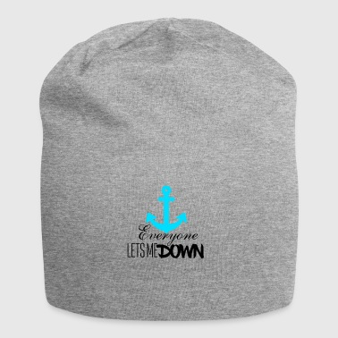 Everyone let's me down - Jersey Beanie