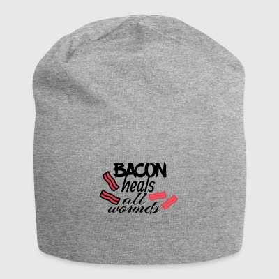Bacon heals everything - Jersey Beanie