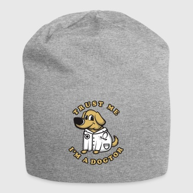 Veterinarian and dog friend - Jersey Beanie