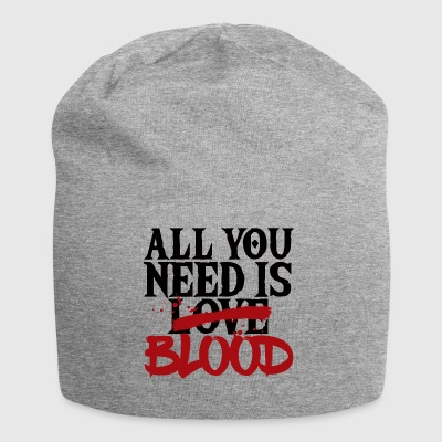 Fantasy / Vampire / Dracula: All You Need Is Love / - Beanie in jersey