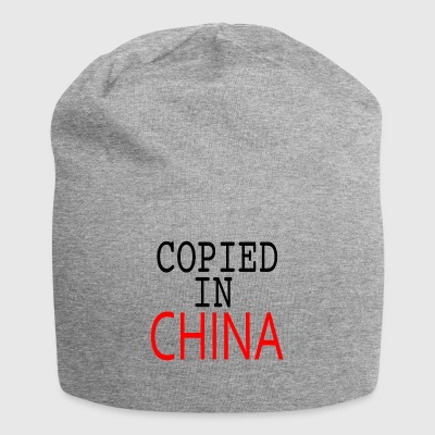 Kopierte in China - Jersey-Beanie