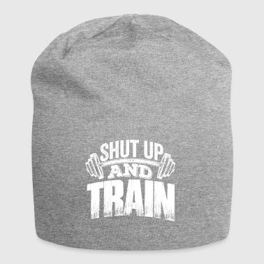Shut up and train! - Jersey Beanie