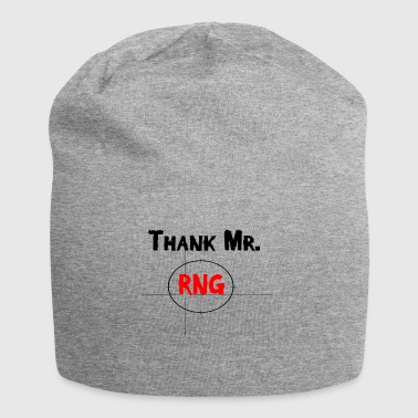 Thank Mr RNG FPS Gamer Red - Jersey Beanie
