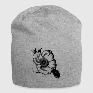 leder Illustration - Jersey-Beanie