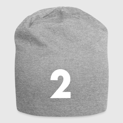 Number 2, Number 2, 2, two, Number two, Two - Jersey Beanie