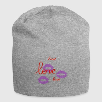 Love - Bonnet en jersey