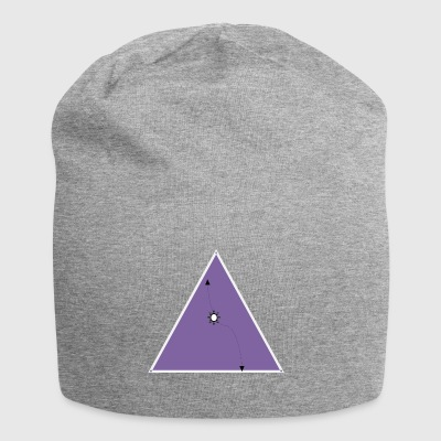 hope triangle - Jersey Beanie