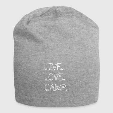Live. Love. Camp. - Jersey Beanie