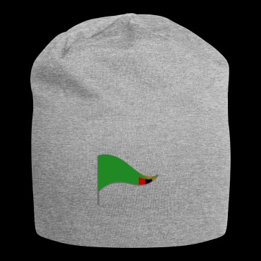 Zambia Flag of Zambia Flag of Africa - Jersey Beanie