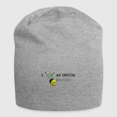 Is ugly an emotion - Jersey Beanie
