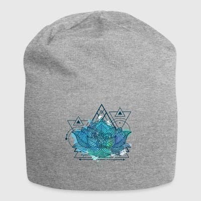 Lotus Triangle - Jersey-Beanie