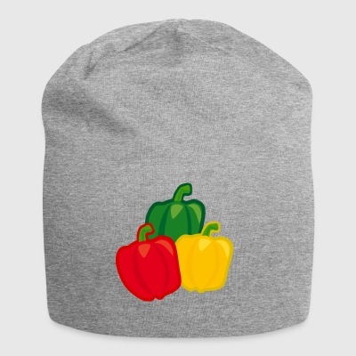 paprika chilli chili pepper citrus veggie vegetable - Jersey Beanie