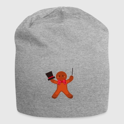 Gingerbread man Christmas - Jersey Beanie