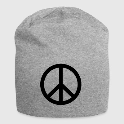 Peace sign - Jersey Beanie