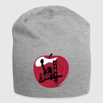 Pomme de New York - Bonnet en jersey