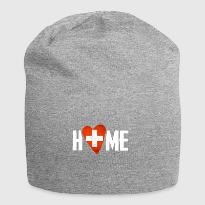 HOME SWITZERLAND Home country Switzerland Home Flag - Jersey Beanie