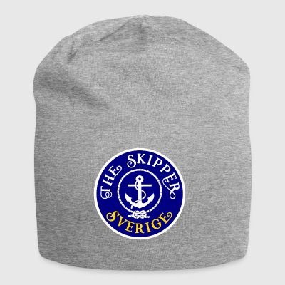 Sailor Skipper Sailing Sweden Anchor Boat Yacht - Jersey Beanie
