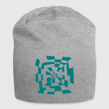 Surreal tunnel Abstract pad 1c - Jersey-Beanie