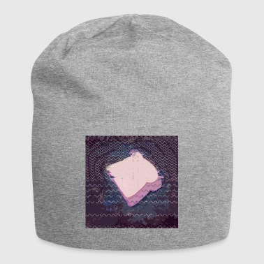 invertitore di pane glitch - Beanie in jersey