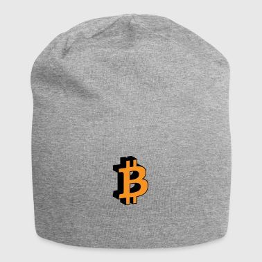 Bitcoin cryptocurrency crypto - Jersey Beanie