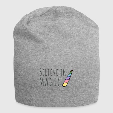 Unicorn believe in magic - Jersey Beanie