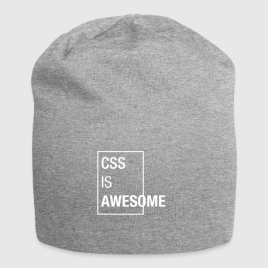 CSS is awesome - Jersey Beanie