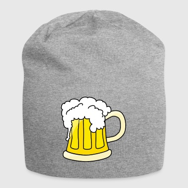Beer mug with foam - Jersey Beanie