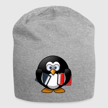 Penguin Clerk Learning Books School Uni - Jersey Beanie