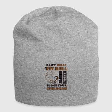 Cool T-shirt. Ideal as a gift for dog lovers - Jersey Beanie