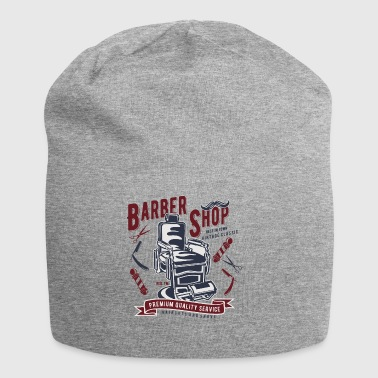 regalo Retro Barbiere bellezza Bartmann Vintage - Beanie in jersey