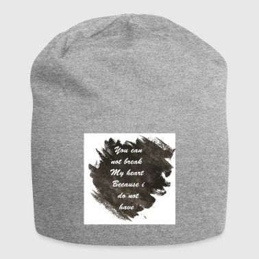 A message to reach the whole world - Jersey Beanie