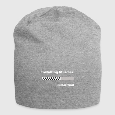 Installing Muscles / Install Muscles - Gift - Jersey Beanie