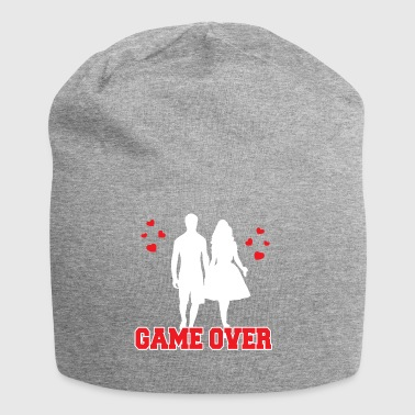 Game Over Bachelor T-Shirt Geschenk - Jersey-Beanie