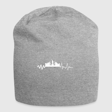 Heartbeat New York T-shirt regalo - Beanie in jersey