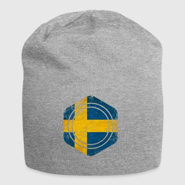 HEXAGON SWEDEN GRUNGE - Jersey Beanie