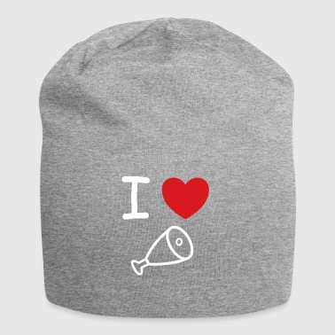I love ham, meat & food gift idea - Jersey Beanie
