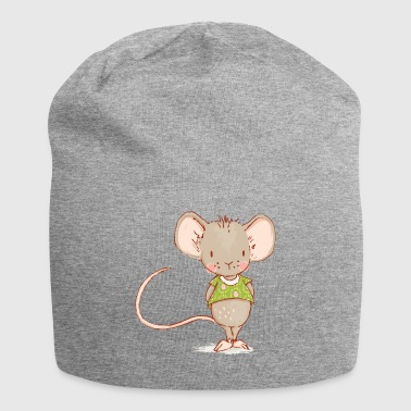 mouse - Beanie in jersey