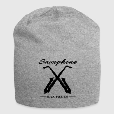 SAXOPHONE SAX RULES - Jersey Beanie